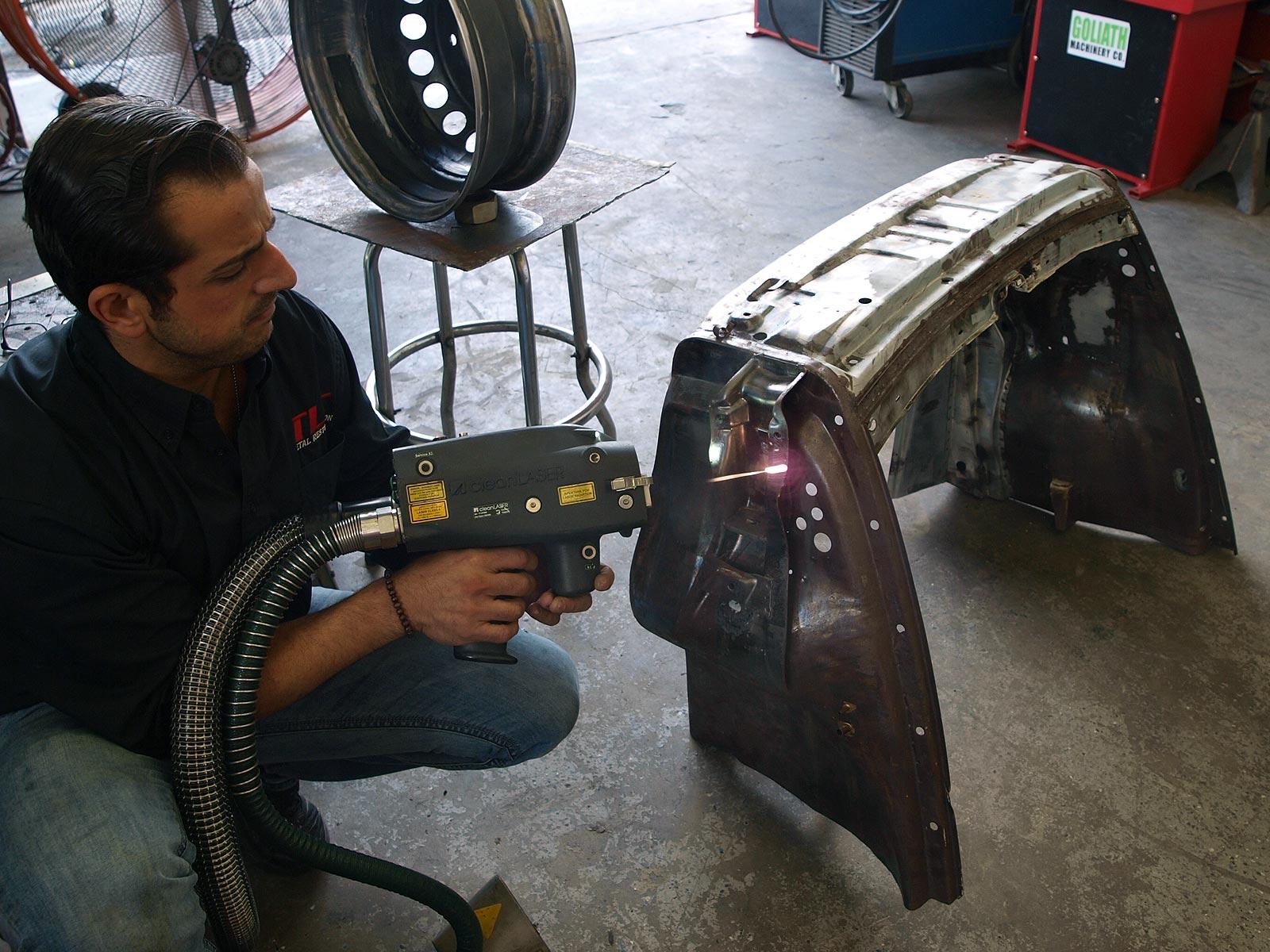 Auto Restoration Laser Stripping