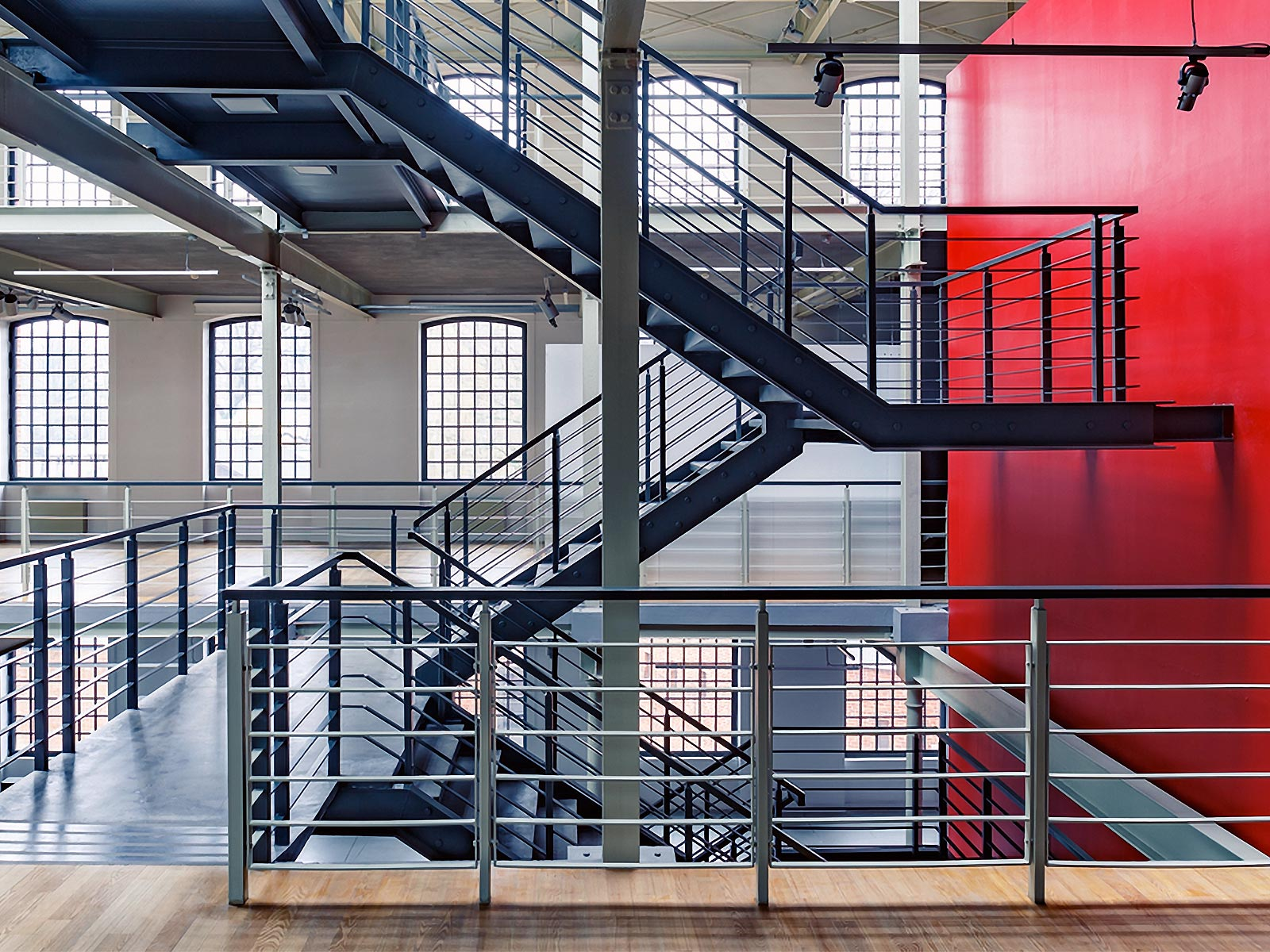 Powder Coating Railings Office
